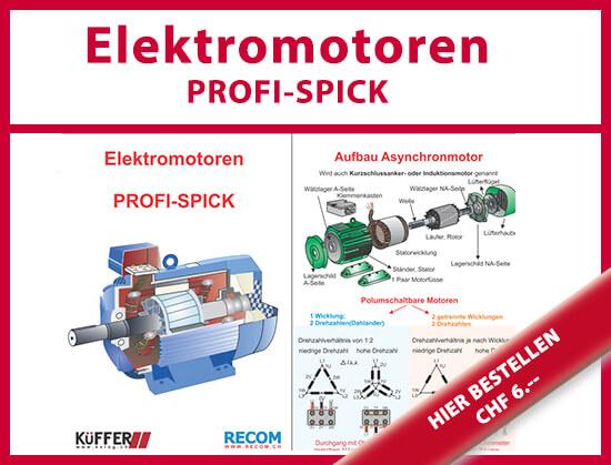 Elektromotoren PROFI-SPICK